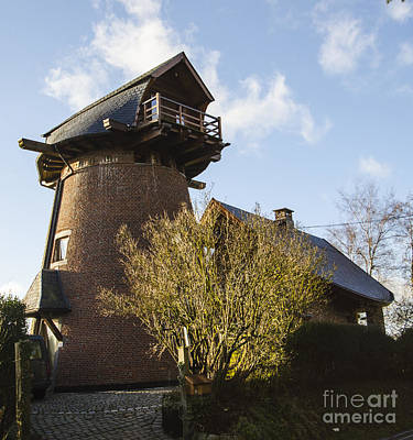 Photograph - Windmill House by Deborah Smolinske