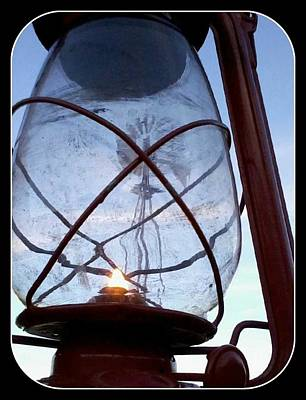 Photograph - Windmill In A Lantern by Cindy New