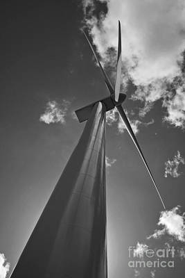Art Print featuring the photograph Windmill by Inge Riis McDonald