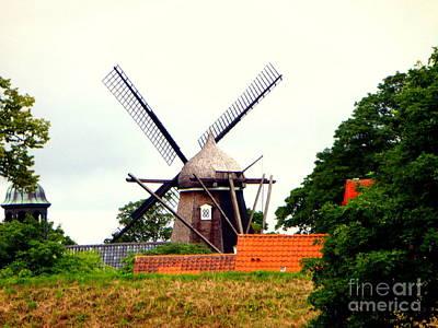 Photograph - Windmill by John Potts