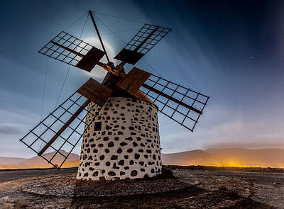 Canary Photograph - Windmill by Martin Zalba