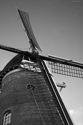 Windmill Art Print by Miguel Winterpacht