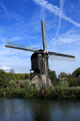 Photograph - Windmill - Utrecht - The Netherlands by Aidan Moran