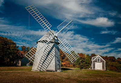 Photograph - Windmill Number 1 by Fred LeBlanc