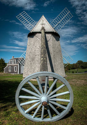 Photograph - Windmill Number 2 by Fred LeBlanc