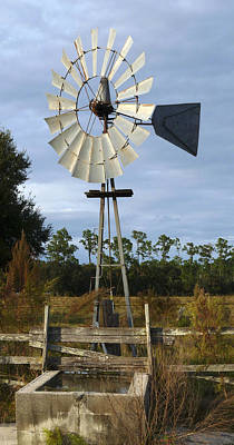 Photograph - Windmill Pump. Charles Bronson State Forest. by Chris  Kusik