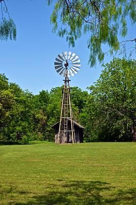 Photograph - Windmill by Ricardo J Ruiz de Porras