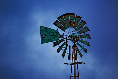 Art Print featuring the photograph Windmill by Rowana Ray