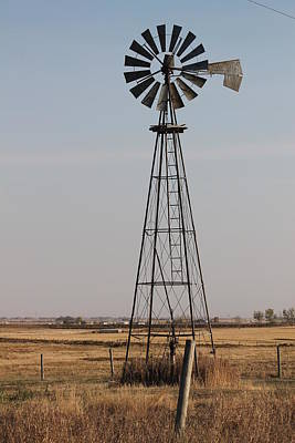 Windmill Art Print by Susan Copley