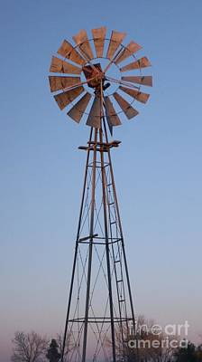Photograph - Windmill Vertical by Kerri Mortenson