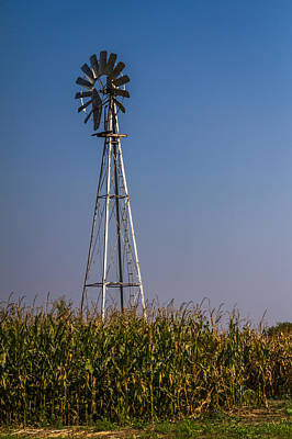 Photograph - Windmill - Vertical by Ron Pate