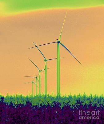 Photograph - Windmills 4 by A K Dayton