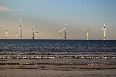 Photograph - Windmills In The Sea by Scott Lyons