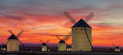Photograph - Windmills La Mancha by Rudi Sebastian