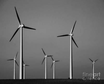 Photograph - Windmills Vii by A K Dayton