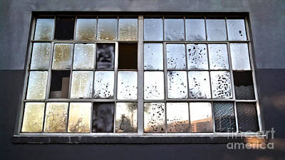 Painting - Oily Window Too by Gregory Dyer