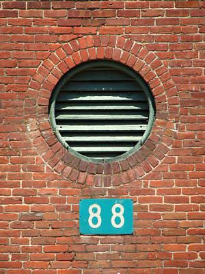 Photograph - Window 88 by Ben Freeman