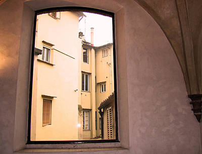 Photograph - Window And Arch by Walter Fahmy