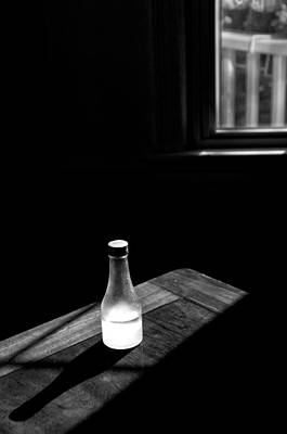 Window And Bottle Art Print by Guillermo Hakim