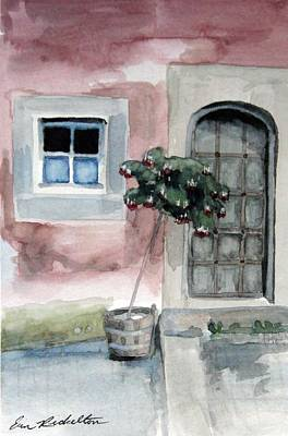 Painting - Window And Door by Erin Rickelton
