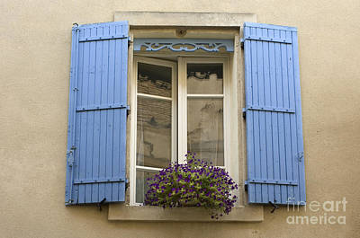 Window And Shutters Art Print by John Shaw