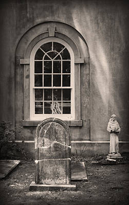 Photograph - Window And Stone by Kelly Hazel