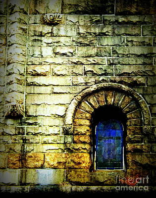 Window And Wall Art Print by James Aiken