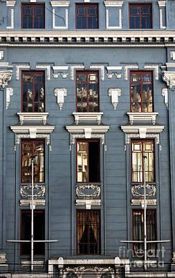 Photograph - Window Architecture In Valparaiso by John Rizzuto