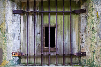 Photograph - Window At The Fort by Marie Jamieson