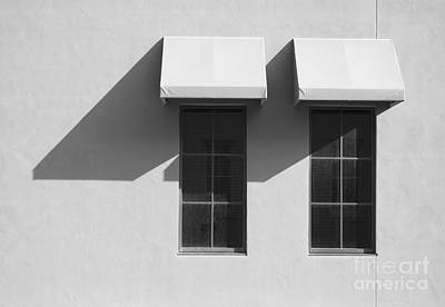 Photograph - Window Awnings Shadows by Tom Brickhouse