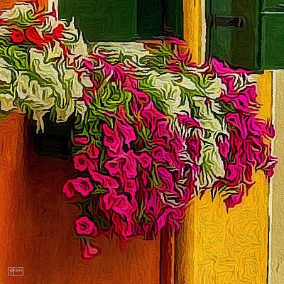 Digital Art - Window Box by Jim Pavelle