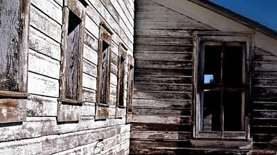 Photograph - Window Chalk by John Grace
