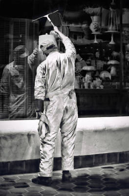 Photograph - Window Cleaner by Joan Herwig