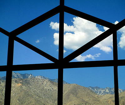 Photograph - Window Clouds Mountain by Randall Weidner