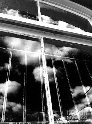 Window Clouds Art Print