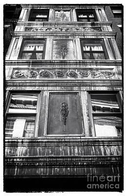 Window Design Art Print by John Rizzuto
