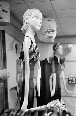 Display Window Painting - Window Display, 1938 by Granger