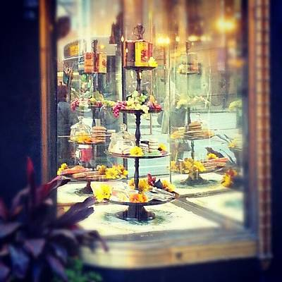 Food And Beverage Photograph - Window Display by Jill Tuinier