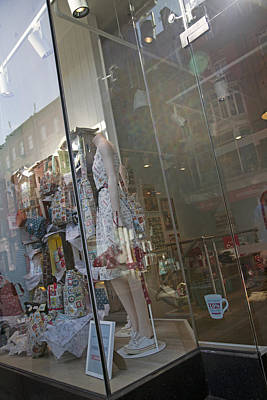 Beer Royalty-Free and Rights-Managed Images - Window--Dublin Ireland by Betsy Knapp