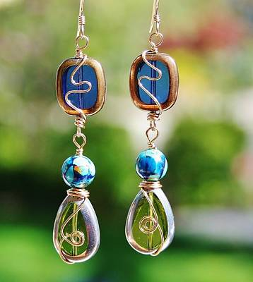 Photograph - Window Earrings by Kelly Nicodemus-Miller