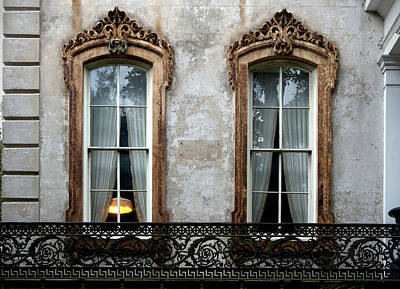 Photograph - Window Elegance by Carol Erikson