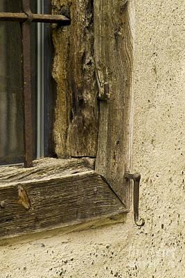 Heiko Koehrerwagner Photograph - Window Frame Detail 2 by Heiko Koehrer-Wagner