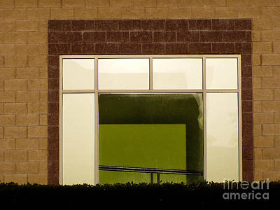 Photograph - Window Frame by George DeLisle