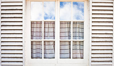 Window Frame Art Print