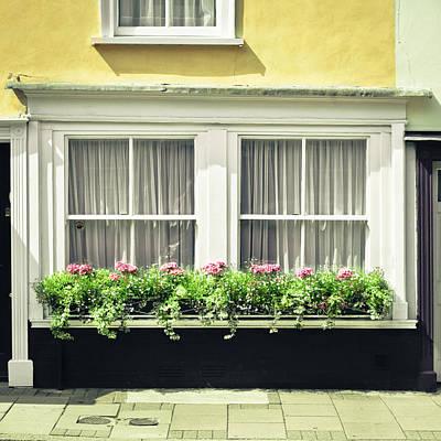 England Photograph - Window Garden by Tom Gowanlock