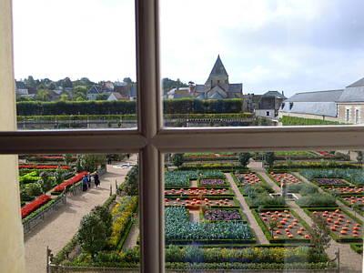 Photograph - Window Garden View 2 by Ellen Meakin