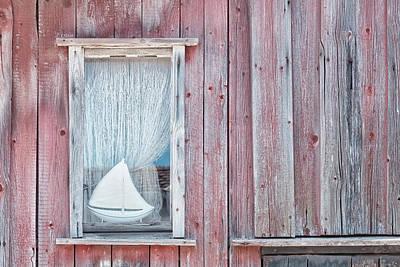 Barn Windows Photograph - Window II by Cora Niele