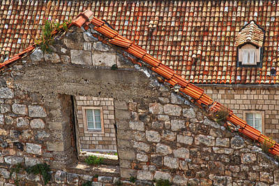 Photograph - Window In A Window - Dubrovnik by Stuart Litoff