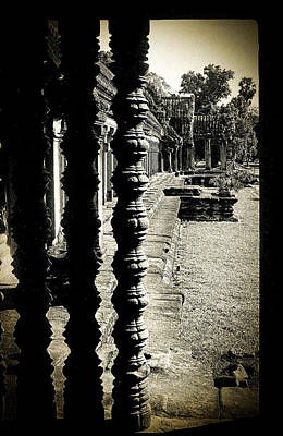 Photograph - Window In Angkor Wat by Weston Westmoreland