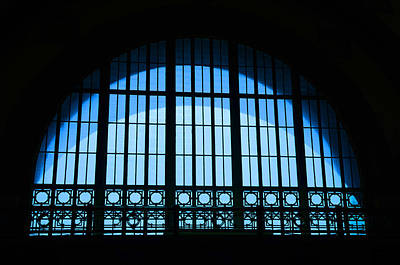 Photograph - Window In Chattanooga Train Depot by Susan  McMenamin